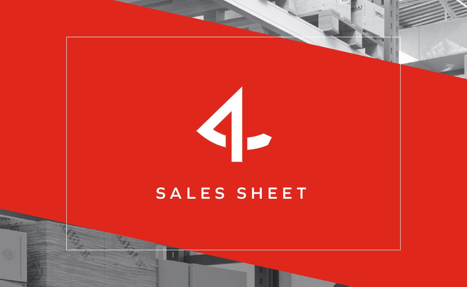Made4net Sales Sheet
